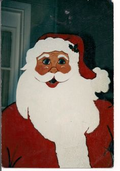 35 best santa faces images on pinterest xmas christmas crafts and