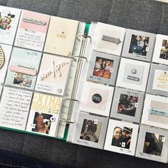 I'm a new @aliedwardsdesigninc #storykit subscriber and just love going back into the simpler ways to document life! #projectlife Photo Journal, Journal Layout, Journal Ideas, Scrapbooking, Scrapbook Albums, Birthday Gifts For Boyfriend, Boyfriend Gifts, Project Life Album, Bullet Journal Inspo