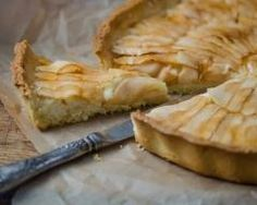 Flan pâtissier façon tarte aux pommes