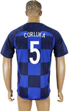 cfae0a86519 Croatia World Cup 2018 Away Kit #5 Soccer Uniforms, Soccer Shirts, World Cup