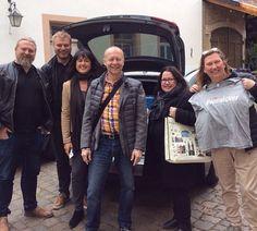 fr.v.: Magnus Reuterdahl, André Fasth, Heike Larsson, Julius Eyem, Anne Naumanen, Anna Torndahl