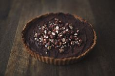 Rustic Hazel and Cacao Tart