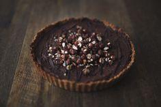 Rustic Hazel and Cacao Tart