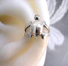 Turtle ear cuff