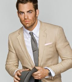 Beige suit | Maybe one day | Pinterest | Beige suits and Suits