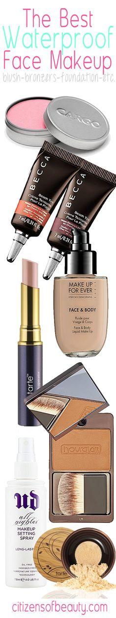 The Best Waterproof Makeup: Face, Eyes, Lips
