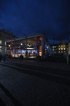 Mitten in Stuttgart auf Sendung mit den aktuellen Wahlergebnissen!