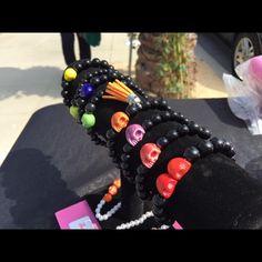 SarolenaFashion skull bracelet SarolenaFashion is a Handmade Brand, Instagram @Sarolenafashion , Facebook Page Sarolenafashion Jewelry Bracelets