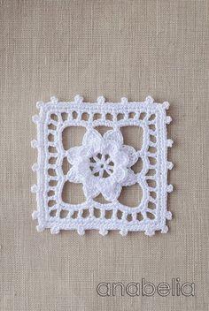Crochet lace motif nr 5 by Anabelia Crochet Socks Tutorial, Crochet Sock Pattern Free, Crochet Shawl Diagram, Crochet Baby Poncho, Crochet Pillow Patterns Free, Crochet Scarf Easy, Crochet Mandala Pattern, Crochet Baby Boots, Crochet Doilies