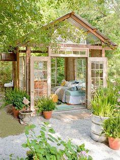 Gartenhaus Inspiration - praktische Ideen für Ihre Ruhe-Oase