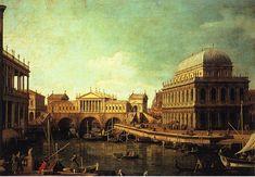 Giovanni Antonio Canal detto Canaletto - Capriccio