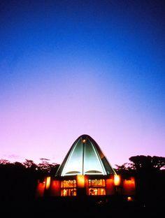 Lighting darkness ~ Baha'i Temple of Samoa