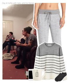 """""""Day in home with Harry and his friends"""" by xcuteniallx ❤ liked on Polyvore featuring Marc New York and Spectrum"""