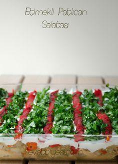 Etimekli Patlıcan Salatası (videolu)