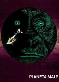 1968 Polish Planet of the Apes Poster