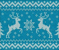 GraphicRiver Sweater with Deer 4622485 Stock Vector Conceptual Seasons Holidays Christmas Illustration Jumper Holiday Greeting Fiber Graphic Knit Macro GraphicRiver Sweater with Deer 4622485 Fair Isle Chart, Deer Pattern, Christmas Templates, Fair Isle Knitting, Banner Printing, Knitting Charts, Christmas Knitting, Christmas Fun, Xmas