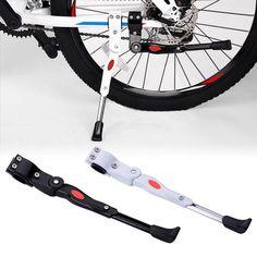 Bike Parking Rack Kickstand Heavy Duty Adjustable Mountain Bike Bicycl