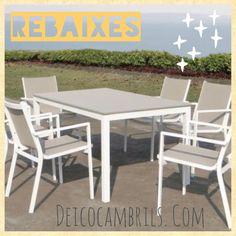 En #muebles #deico #cambrils continúan las #rebajas. No te las puedes perder.