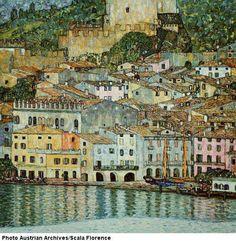 Klimt, Gustav (1862-1918), Malcesine on the Garda Lake, 1913