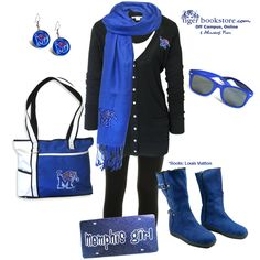 Memphis Tigers Game Day look! @Memphis Athletics #memphis #tigers #gameday