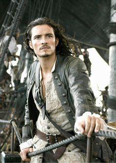 """Cinéma : Orlando Bloom, """"pirates des caraïbes"""", gris"""