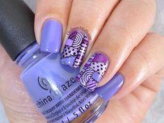 31DC2015 Day 06: Violet nails