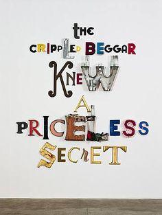 Jack Pierson THE CRIPPLED BEGGAR KNEW A PRICELESS SECRET 2007