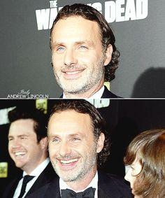 Andrew Lincoln attending The Walking Dead Season 6 Premiere.