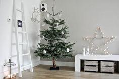 Combina estos dos estilos para pasar unas navidades sencillas y naturales sin perder en calidez