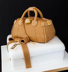 cake international 2014 purse cakes | the Cake Works, Darlington wedding cake maker, Co. Durham