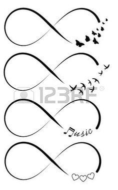 61 Ideas Tattoo Frauen Kleines Unendlichkeit For 2019 - tatoo feminina Unendlichkeitssymbol Tattoos, Neue Tattoos, Music Tattoos, Body Art Tattoos, Small Tattoos, Music Symbol Tattoo, Tattos, Turtle Tattoos, Bild Tattoos