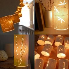 Paper Lanterns. How do you make these?