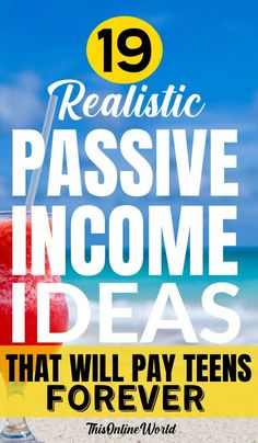 How To Make Money As A Teenager – 19 Realistic Ideas That Actually Pay! #makingmoney #onlinemoneymaking #sidehustle #money #extraincome #sideincome Make More Money, Make Money Blogging, Make Money From Home, Money Tips, Extra Money, Make Money Online, Saving Money, Investing Money