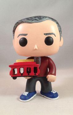 Mister Rogers Custom Funko POP! Figure - The Mister Rogers' Neighborhood Archive