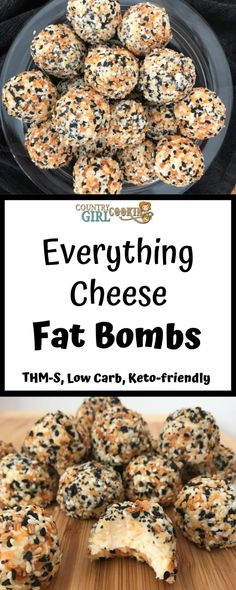 Everything Cheese Fat Bombs - Everything but the bagel included in these savory fat bombs! Everything Cheese Fat Bombs - Everything but the bagel included in these savory fat bombs! Keto Fat, Low Carb Keto, Low Carb Recipes, Diet Recipes, Flour Recipes, Snack Recipes, Cookbook Recipes, Dessert Recipes, Chicken Recipes
