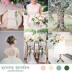 spring garden wedding inspiration weddingwonderland...