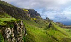 isla espectacular en Escocia