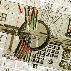 #SApublication // http://super-architects.com/archives/5571  #architecture #drawing #hybrid