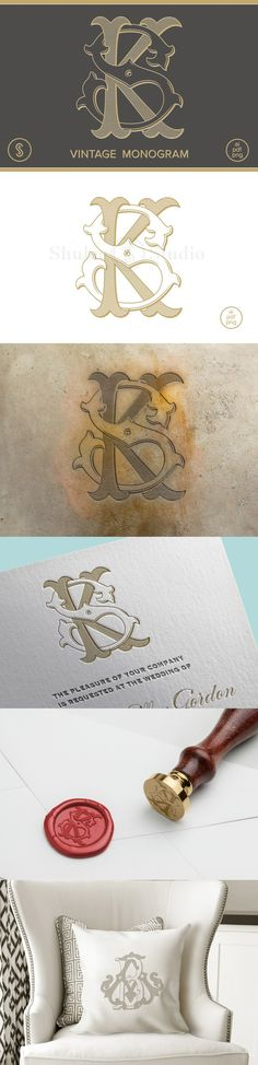 KS Monogram SK Monogram. Logo Templates. $35.00