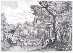 Wooded Region - Pieter Bruegel the Elder
