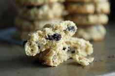 Coconut Blueberry Cookies