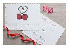 #free printables, #free monogram, #free, #free Save the Date, Save the Date #customizable, Cherry, Cherry Heart, $0