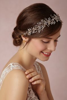 Breathless Headpiece from BHLDN - $400