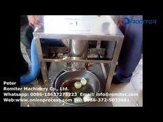 Small Pneumatic Onion Peeling Machine for Domestic or Restarant Use