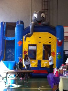 Moon bounce for the children #Autism