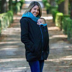 <p>Veste de portage / de grossesse</p> <p>Idéale pour l'hiver</p> <p>Portage devant ou dans le dos</p>