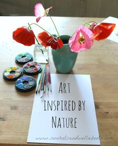 Sun Hats & Wellie Boots: Nature Study & Art Inspired by Poppies