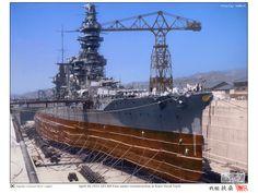 IJN Fuso in Kure Navy yard, 28 April 1933 | Flickr - Photo Sharing!