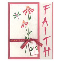 faith inspiration card