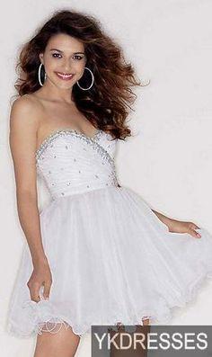 4f7c787272 Fashion Prom Dress Cute A-Line Sleeveless Sweetheart Evening Dresses Sale